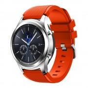 til Samsung Gear 3 orange Sports silikonerem Smartwatch tilbehør