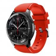 Samsung Gear 3 rød Sports silikonerem Smartwatch tilbehør Leveso.dk