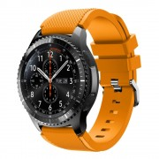 Samsung Gear 3 Sports silikonerem lys orange, Smartwatch tilbehør