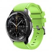 Samsung Gear 3 Sports silikonerem lysegrøn, Smartwatch tilbehør
