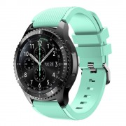 Samsung Gear 3 Sports silikone urrem cyan Smartwatch tilbehør