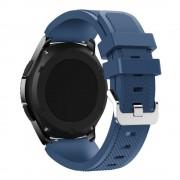 Til Samsung Gear 3 Sports silikonerem mørkeblå Leveso.dk Smartwatch tilbehør