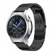 Samsung Gear S3 Luksus rustfri stål rem Smartwatch tilbehør