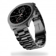Samsung Gear S2 classic urrem rustfri stål Smartwatch tilbehør hos Leveso.dk