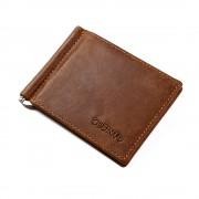 GUBINTO læder kortholder med pengeclips brun Universal tilbehør