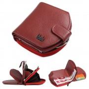 Elegant folde læder pung rød Universal tilbehør