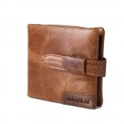 Vintage læder tegnebog brun Universal tilbehør