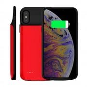 Batteri cover 3000 mAH Iphone X rød Mobil tilbehør