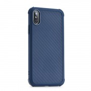 blå Roar Armor Carbon case Iphone X / XS Mobil tilbehør