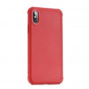 rød Roar Armor Carbon case Iphone X / XS Mobil tilbehør