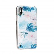 Almond Forcell Marble case Samsung A10 Mobil tilbehør