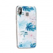 Almond Forcell Marble case Samsung A20E Mobil tilbehør