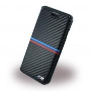 Iphone 7 etui BMW carbon med metal logo Mobiltelefon tilbehør