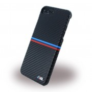 Iphone 7 plus cover BMW carbon med logo Mobiltelefon tilbehør
