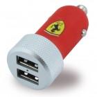 Ferrari dobbelt usb billader hurtigladning Universal biltilbehør