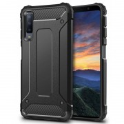 Forcell Armor case Galaxy A7 2018 sort Mobil tilbehør