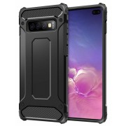 Forcell Armor case Galaxy S10 plus sort Mobil tilbehør