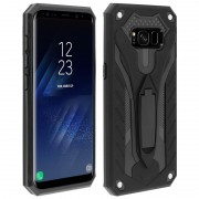 Forcell phantom case Galaxy S8 sort Mobil tilbehør