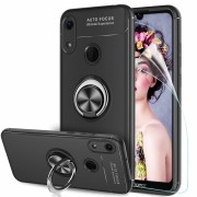 Forcell ring case Huawei Y6 (2019) sort Mobil tilbehør