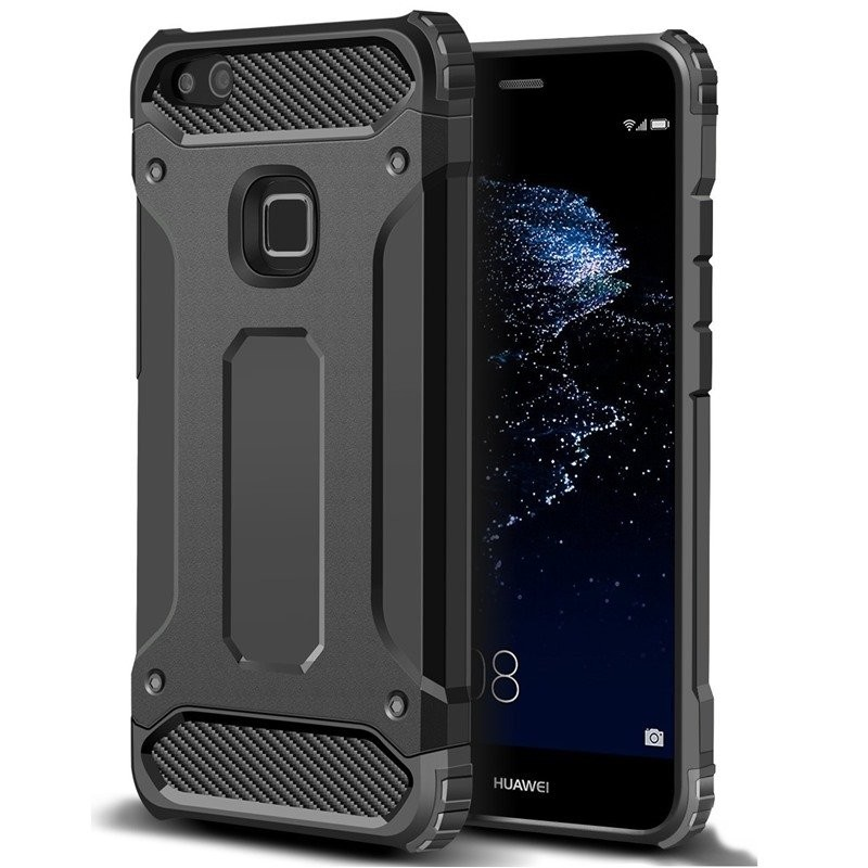 classic fit 28e00 1f98e Forcell Armor case Huawei P10 lite sort