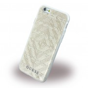 Iphone 6, 6S cover Guess 3D Aztec design beige Mobiltelefon tilbehør