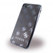 Iphone 7 sort/gun metal cover original Guess 4G, Apple Iphone 7 Mobil tilbehør finder du hos Leveso.dk