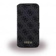 Samsung Galaxy S7 cover - etui Guess Uptown design grå Mobiltelefon tilbehør