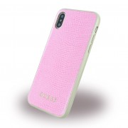 Guess hard case cover pink Iphone X  Mobilcovers