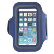 Sports armbånd til iphone se 5s 5 blå Mobiltelefon tilbehør