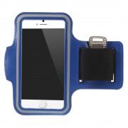 Sports armbånd til iphone 6 mørkeblå Mobiltelefon tilbehør