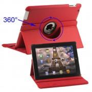 Ipad 2 rød rotations cover Ipad og Tablet tilbehør