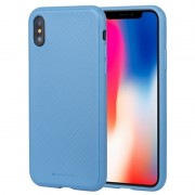 blå Style Lux case Iphone X / XS Mobil tilbehør