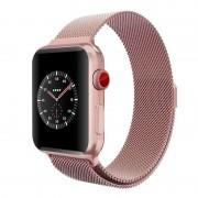Milanese rem Apple watch 38mm rosaguld Smartwatch tilbehør