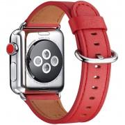 APPLE WATCH 38 MM urrem af Italiensk læder, rød Smartwatch tilbehør