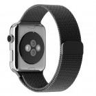 Apple watch 38 mm milanese urrem sort Leveso.dk Smartwatch tilbehør
