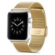 Apple watch 38mm Mesh urrem guld Smartwatch tilbehør