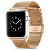 Apple watch 38mm Mesh urrem rosa guld Leveso.dk Smartwatch tilbehør