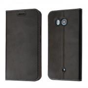 Htc U11 klassisk flip cover med lommer Mobiltilbehør