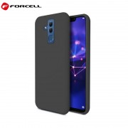 sort Forcell soft silikone case Huawei Mate 20 lite Mobil tilbehør