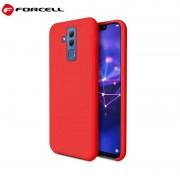 rød Forcell soft silikone case Huawei Mate 20 lite Mobil tilbehør