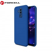 blå Forcell soft silikone case Huawei Mate 20 lite Mobil tilbehør