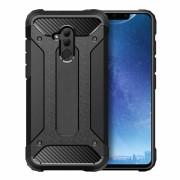 Viser Forcell armor case Huawei Mate 20 lite sort Mobil tilbehør