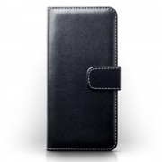 Flip cover til Huawei P10 med lommer sort Mobiltelefon tilbehør