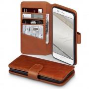 Til Huawei P10 premium cover i ægte læder brun, Huawei P10 covers og etuier