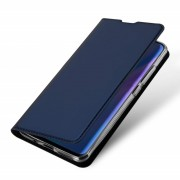 blå Slim flip etui Huawei P30 Lite Mobil tilbehør