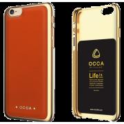 til Iphone 6-6S cover orange Occa Absolute Apple Iphone 6 Mobil tilbehør Leveso.dk