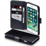 Klassisk flip cover Iphone 7 plus i ægte læder Mobiltilbehør