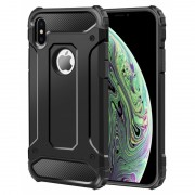 Forcell Armor case Iphone XS sort Mobil tilbehør