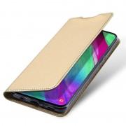 guld S-line slim flip cover Samsung A40 Mobil tilbehør
