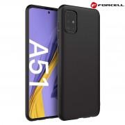 sort Forcell soft silikone case Samsung A51 Mobil tilbehør